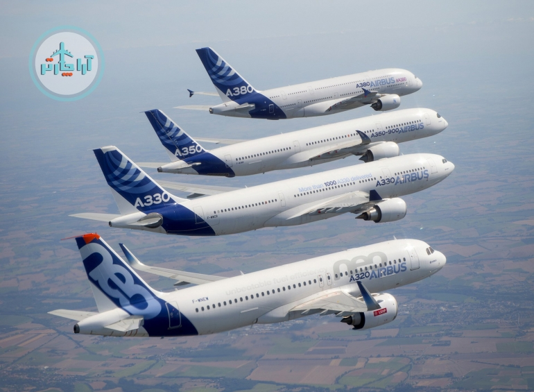 Airbus-Family-formation-flight